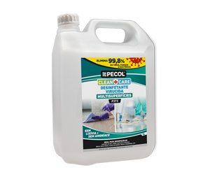 P373 Desinfetante Multisuperfícies CLEAN+CARE 5L PECOL